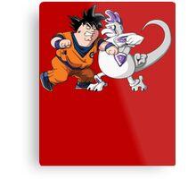 Family Guy Z - Goketer VS Cheeza - 02 Metal Print