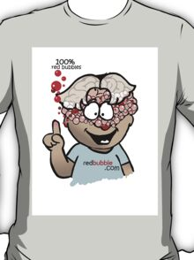 100% RED BUBBLES T-Shirt