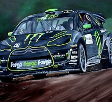 Liam Doran RallyCross Monster Citreon DS3 by iconic-arts