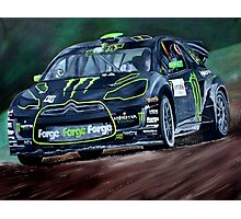 Liam Doran RallyCross Monster Citreon DS3 Photographic Print