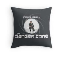 Double-O Danger Zone! Throw Pillow
