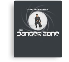 Double-O Danger Zone! Canvas Print