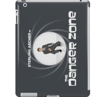Double-O Danger Zone! iPad Case/Skin