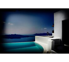 Blue Water Photographic Print