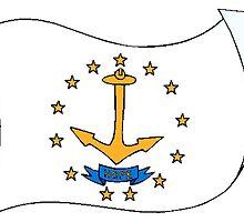 Rhode Island State Flag by kwg2200