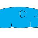 Blue elephant s by Michael Birchmore