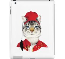 Original Greek Cat Art Print iPad Case/Skin