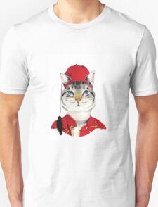 Original Greek Cat Art Print T-Shirt