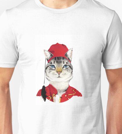 Original Greek Cat Art Print Unisex T-Shirt