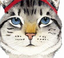 Original Greek Cat Art Print Sticker
