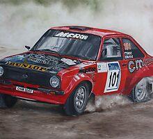 Colin McRae Mk 2 Escort Rally  by iconic-arts