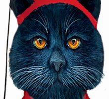 Charming Greek Cat Sticker