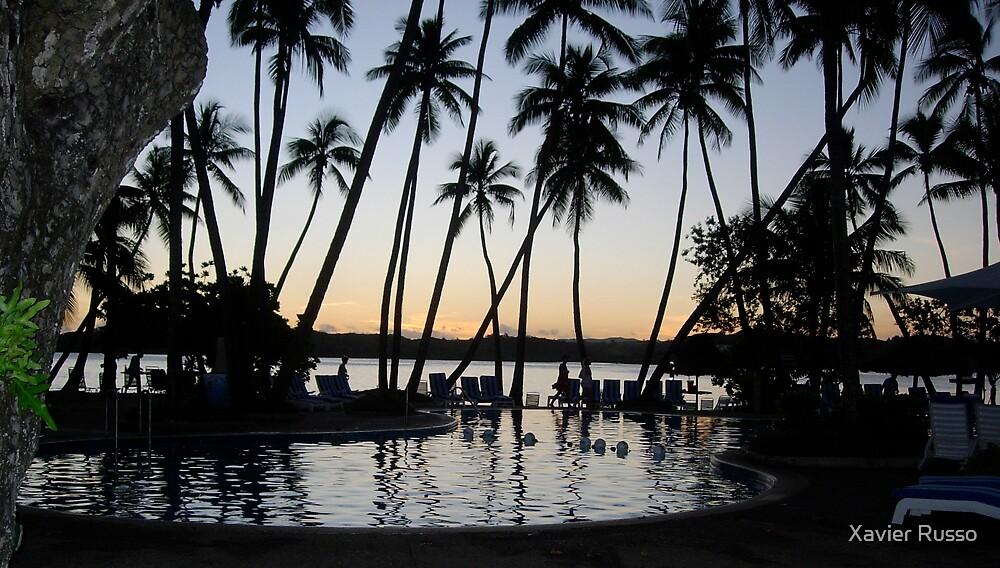 Fiji evening by Xavier Russo