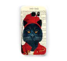 Original Greek Cat Art Print Samsung Galaxy Case/Skin