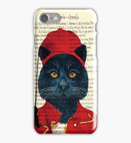 Original Greek Cat Art Print iPhone Case/Skin