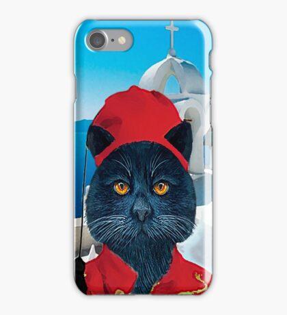 Cute Greek Cat iPhone Case/Skin