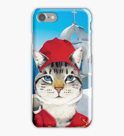 Greek Cat iPhone Case/Skin