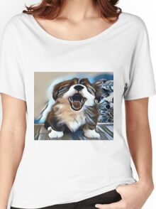The Sleepy Pup Women's Relaxed Fit T-Shirt