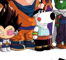 Family Guy Z Sticker