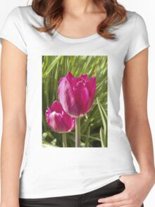 Spring tulip 4 Women's Fitted Scoop T-Shirt