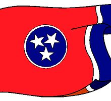 Tennessee State Flag by kwg2200