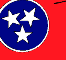 Tennessee State Flag Sticker
