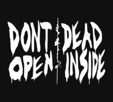 Don't Open Dead Inside by Iva Ivanova