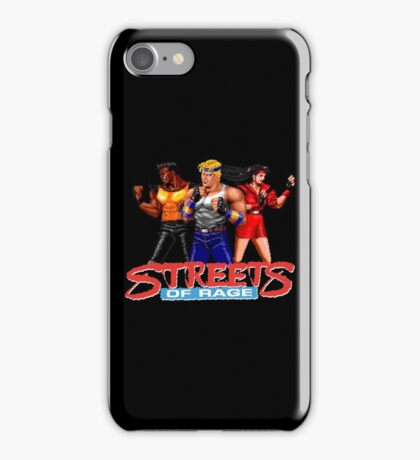 STREETS OF RAGE - AXEL-BLAZE-ADAM  iPhone Case/Skin