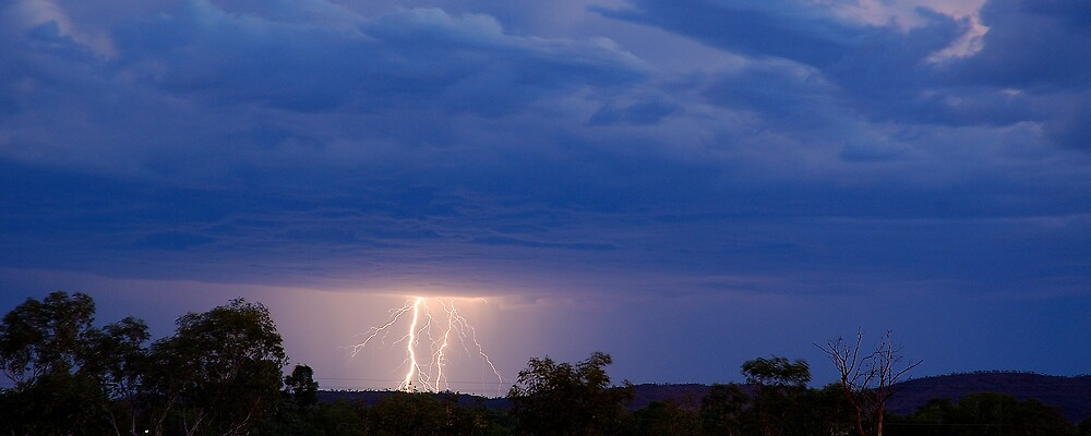 Afternoon storm by matthew maguire