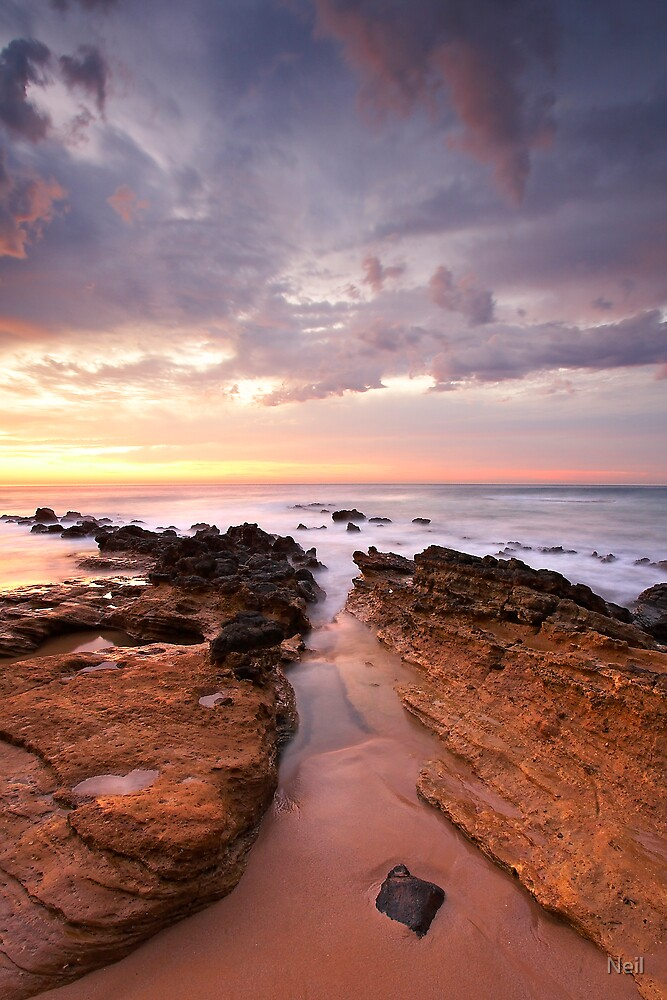 Sunrise at Aireys Inlet by Neil