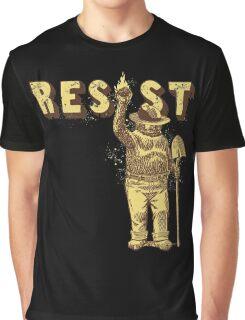 "Smokey Says ""Resist"" Graphic T-Shirt"