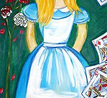 """Alice in Wonderland I"" by Jaz G"