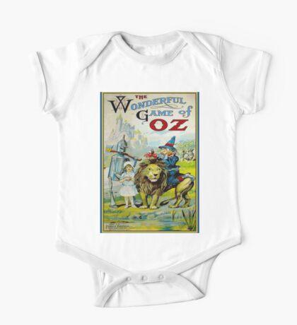 OZ; Vintage Game Advertising Print One Piece - Short Sleeve
