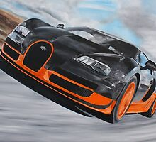 Bugatti Veyron Super Sport by iconic-arts