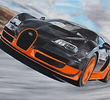 Bugatti Veyron Super Sport by iconic-arts