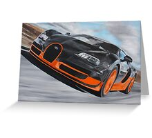 Bugatti Veyron Super Sport Greeting Card