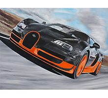 Bugatti Veyron Super Sport Photographic Print