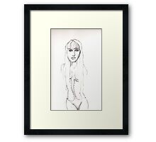 Lili Framed Print
