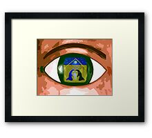CHRISTMAS WITNESS Framed Print