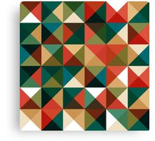 Retro Pattern Design Canvas Print