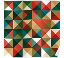 Retro Pattern Design Poster