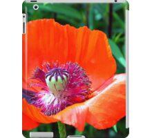 Red Poppy iPad Case/Skin