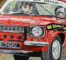 Ford Mk1 Escort Rally car Sticker