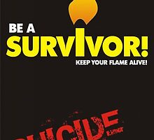 Poster 6 - Suicide Awareness Campaign by Chris Dixon