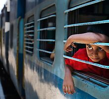 Train boy by Anthony Begovic