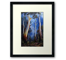 Gum tree view Framed Print