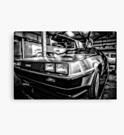 back to the garage  Canvas Print