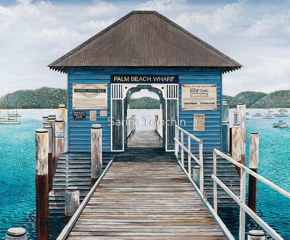 Palm Beach Wharf by Sarina Tomchin