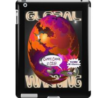 Climate Change Is Crap T-shirt Design iPad Case/Skin