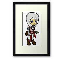 Tiny Assassin Framed Print